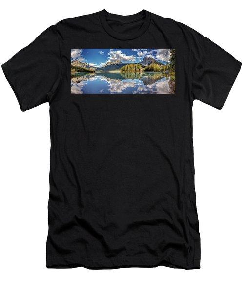 Emerald Lake Panorama Men's T-Shirt (Athletic Fit)