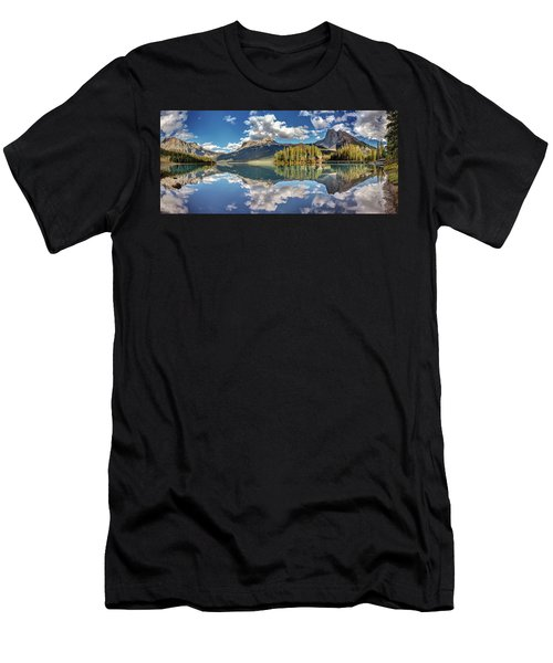 Emerald Lake Panorama Men's T-Shirt (Athletic Fit)