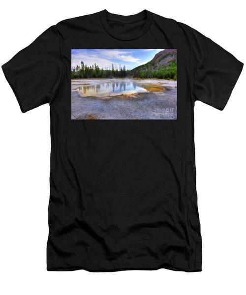 Emerald Pool Men's T-Shirt (Athletic Fit)