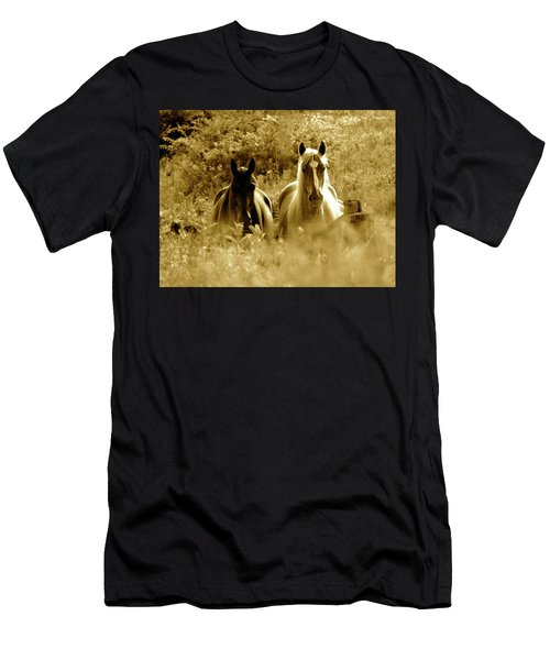 Emerging From The Farm Men's T-Shirt (Athletic Fit)