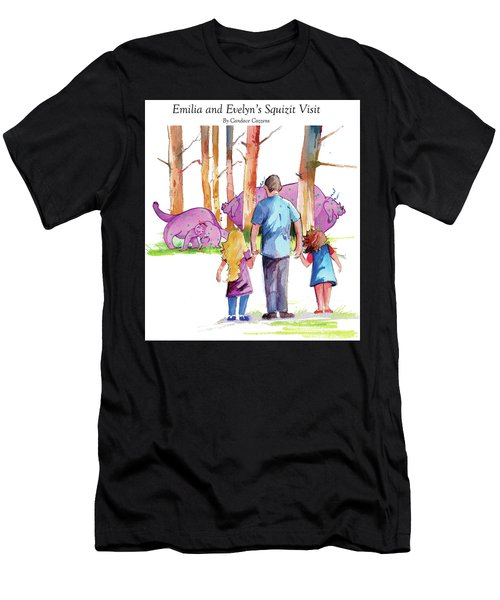 Emilia And Evelyn's Squizit Visit Men's T-Shirt (Athletic Fit)