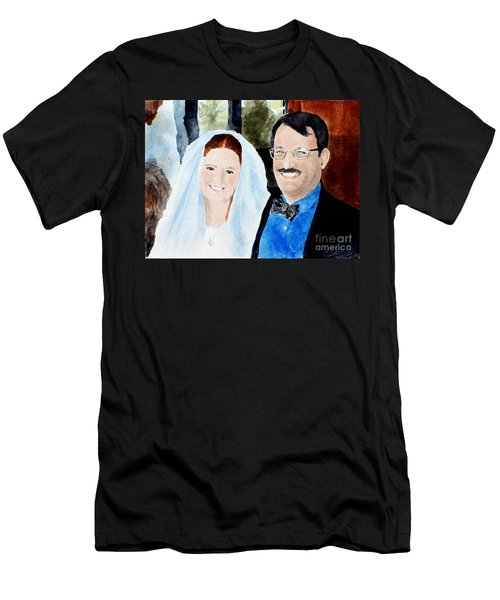 Emily And Jason Men's T-Shirt (Athletic Fit)