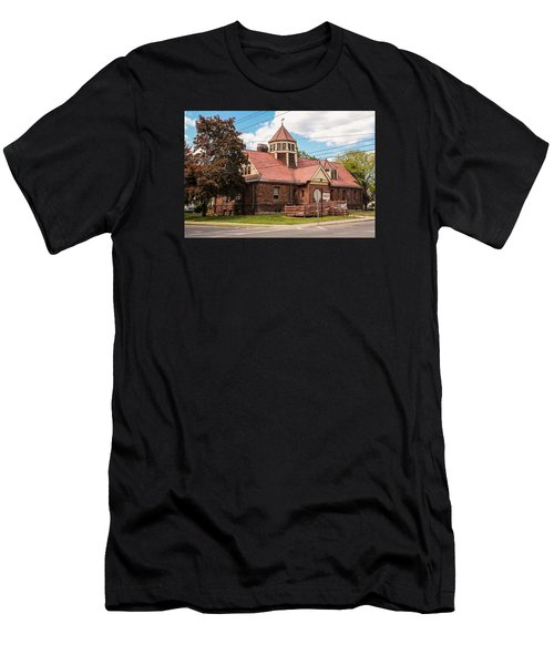 Emily Williston Memorial Library And Museum Men's T-Shirt (Athletic Fit)