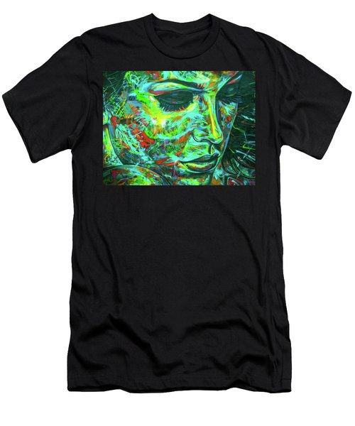 Emotion Green Men's T-Shirt (Athletic Fit)