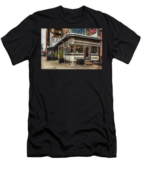 Empire Diner Men's T-Shirt (Athletic Fit)