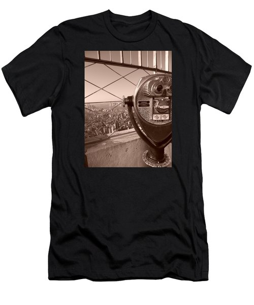 Empire State Of Mind Men's T-Shirt (Athletic Fit)