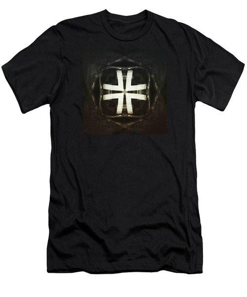 Empty Flower Men's T-Shirt (Slim Fit) by Jorge Ferreira
