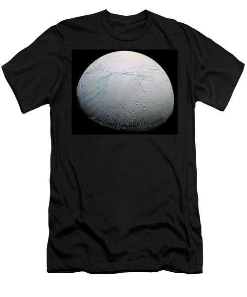 Men's T-Shirt (Slim Fit) featuring the photograph Enceladus Hd by Adam Romanowicz