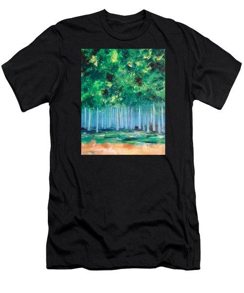 Enchanted Poplars Men's T-Shirt (Athletic Fit)
