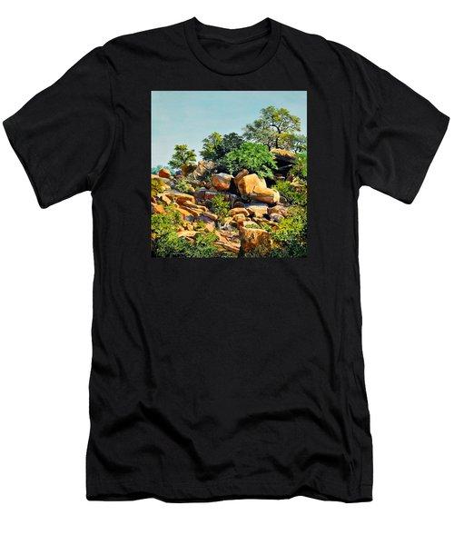 Enchanted Rock Men's T-Shirt (Athletic Fit)