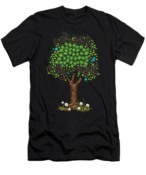 Enchanted Tree Men's T-Shirt (Athletic Fit)