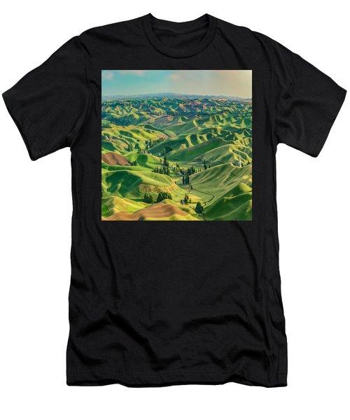 Enchanted Valley Award Winner Men's T-Shirt (Athletic Fit)