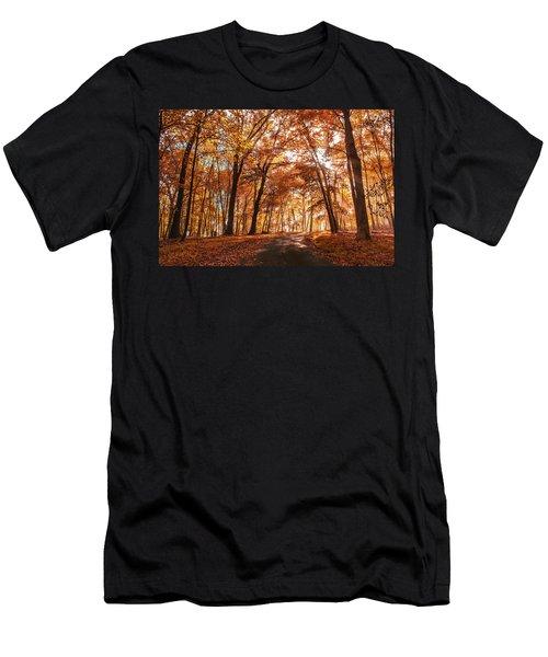 Enchanting Fall Men's T-Shirt (Athletic Fit)