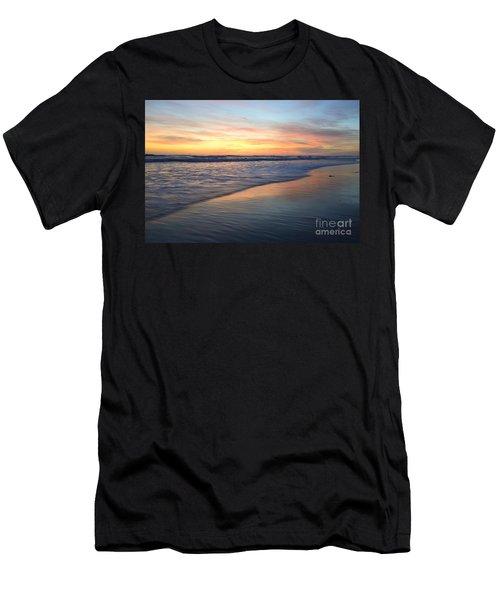 Encinitas Blue  Men's T-Shirt (Athletic Fit)