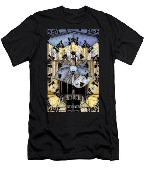 Enclosed Men's T-Shirt (Slim Fit) by Ron Bissett