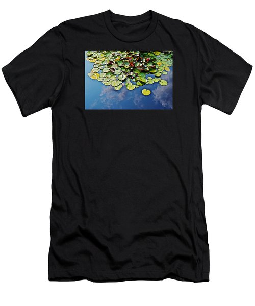 End Of July Water Lilies In The Clouds Men's T-Shirt (Athletic Fit)