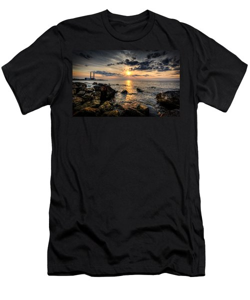 End Of The Day Men's T-Shirt (Slim Fit) by Everet Regal