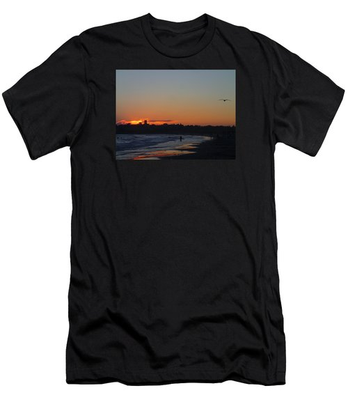 End Of The Island Day. Men's T-Shirt (Slim Fit) by Robert Nickologianis