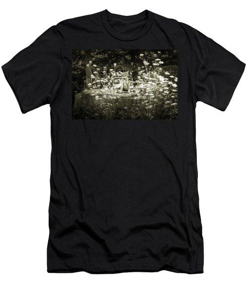 Endangered Smile Men's T-Shirt (Athletic Fit)