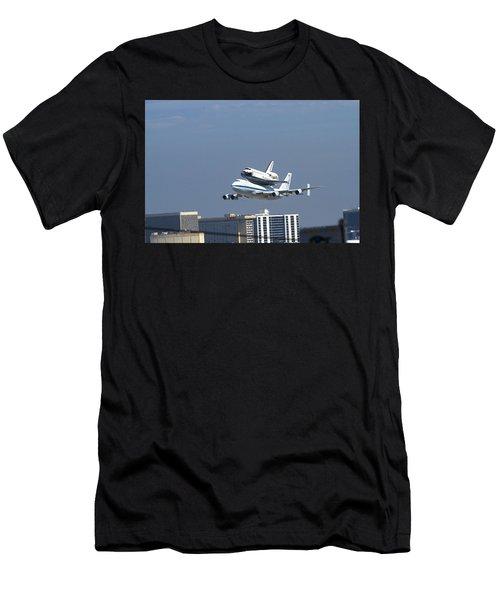 Endeavous Final Flight Lax Men's T-Shirt (Athletic Fit)