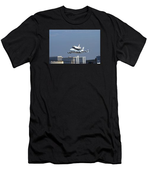 Endeavous Final Flight Lax Men's T-Shirt (Athletic Fit)