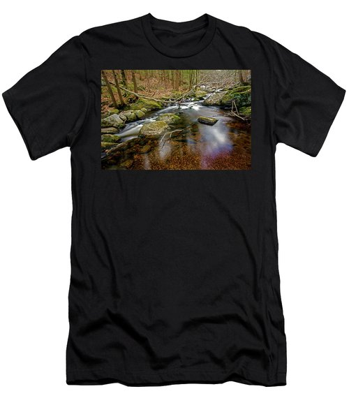 Enders Falls Men's T-Shirt (Slim Fit) by Jim Gillen