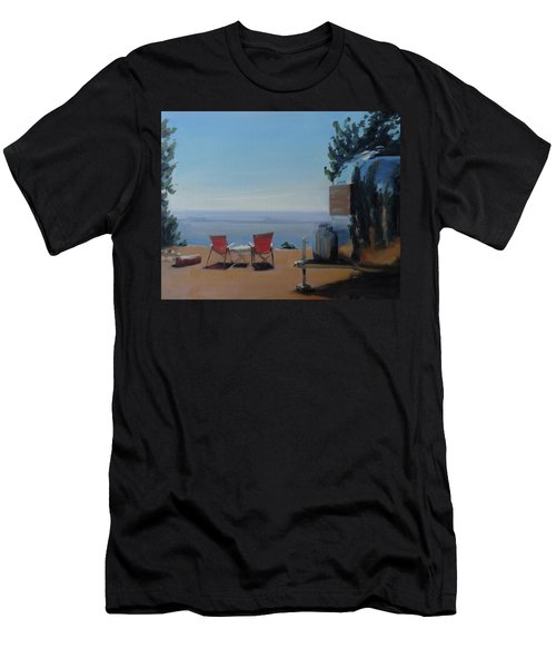 Endless View Boondocking At The Grand Canyon Men's T-Shirt (Athletic Fit)