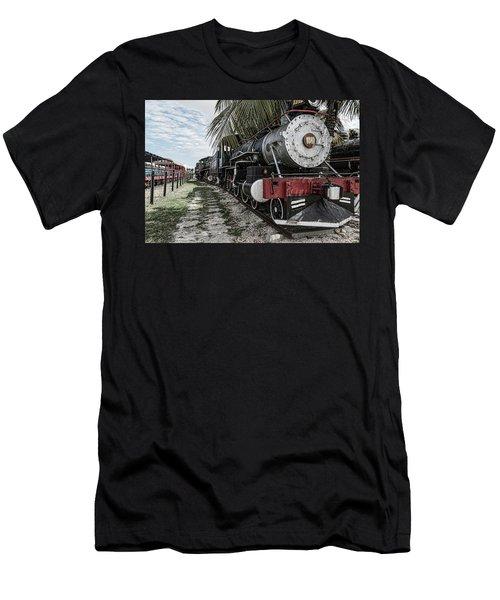 Engine 1342 Parked Men's T-Shirt (Athletic Fit)