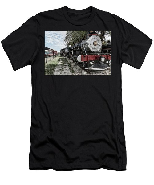 Engine 1342 Parked Men's T-Shirt (Athletic Fit)