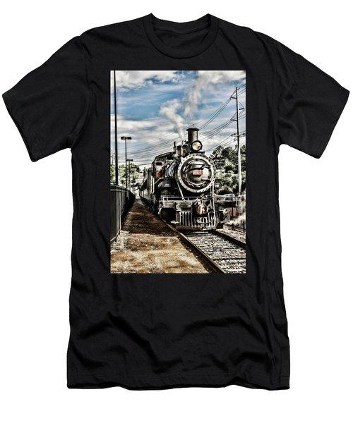Engine 154 Men's T-Shirt (Athletic Fit)