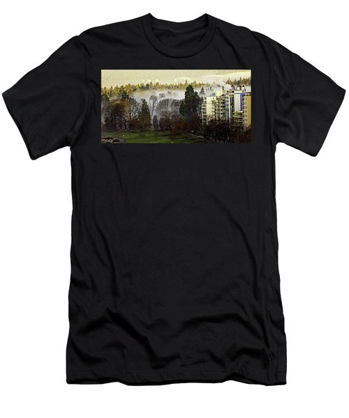 English Bay Fog #2 Men's T-Shirt (Athletic Fit)