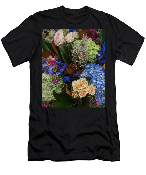 Men's T-Shirt (Athletic Fit) featuring the photograph English Bouquet by Julie Andel