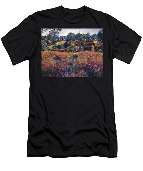 English Country Fields Men's T-Shirt (Athletic Fit)