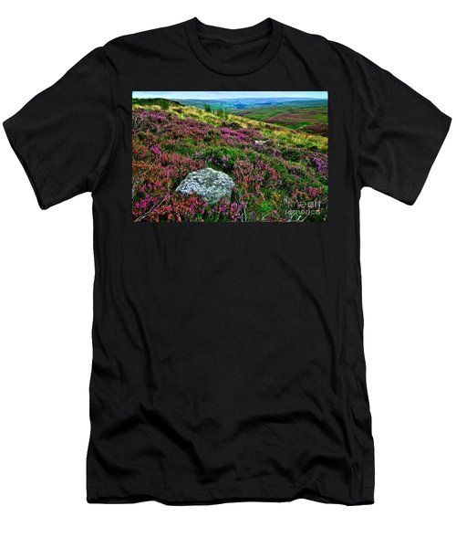 English Moorland Heather Men's T-Shirt (Athletic Fit)