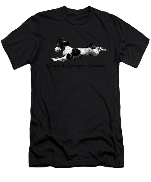 English Springer Spaniel Men's T-Shirt (Athletic Fit)