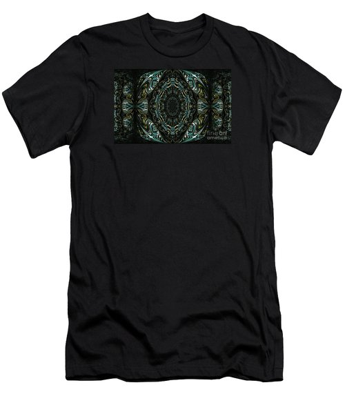 Men's T-Shirt (Slim Fit) featuring the photograph Enigma. Special For August by Oksana Semenchenko