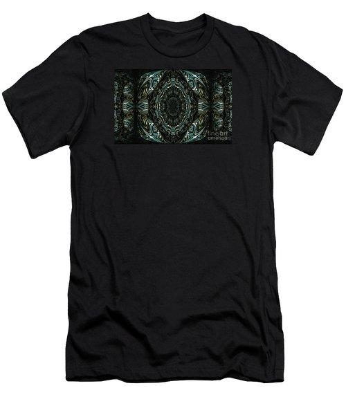 Enigma. Special For August Men's T-Shirt (Slim Fit) by Oksana Semenchenko
