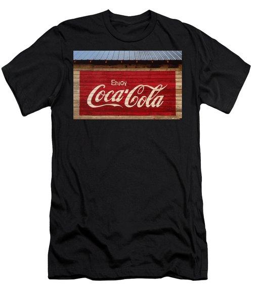 Enjoy Coke Men's T-Shirt (Athletic Fit)