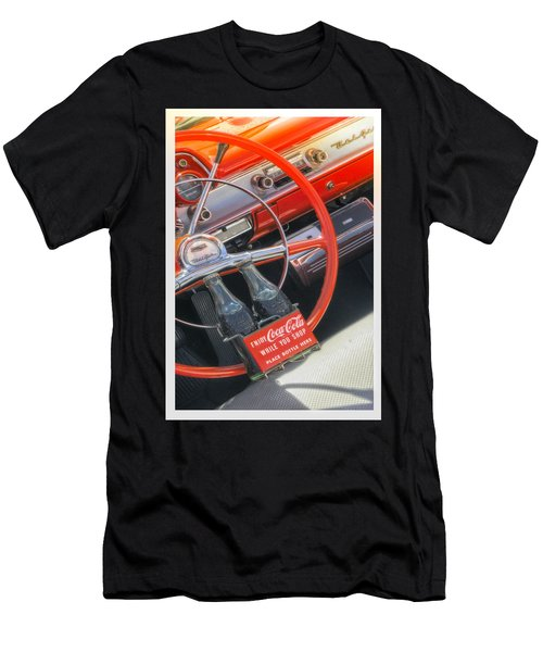 Men's T-Shirt (Athletic Fit) featuring the photograph Enjoy While You Shop by Michael Hope