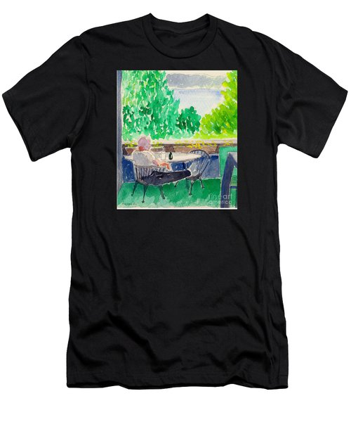 Enjoying The View-detail Men's T-Shirt (Athletic Fit)