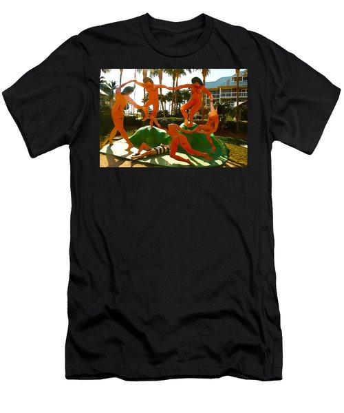 Enjoying  Key West Men's T-Shirt (Athletic Fit)