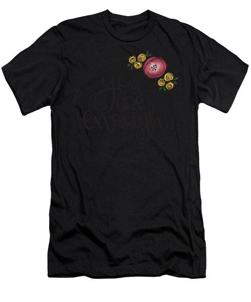 Enough Men's T-Shirt (Athletic Fit)