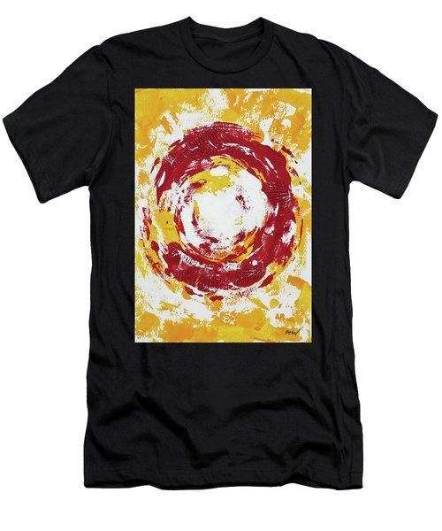 Enso Of Poppy Men's T-Shirt (Athletic Fit)