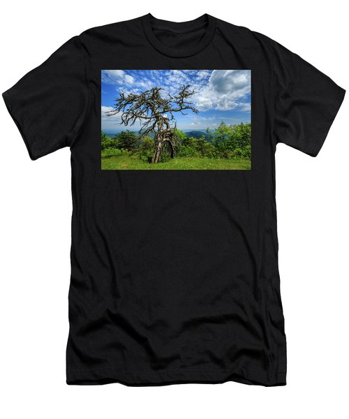 Ent At The Top Of The Hill - Color Men's T-Shirt (Athletic Fit)