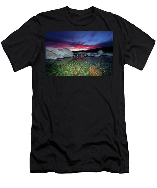 Men's T-Shirt (Athletic Fit) featuring the photograph Enter A Tahoe Dream by Sean Sarsfield