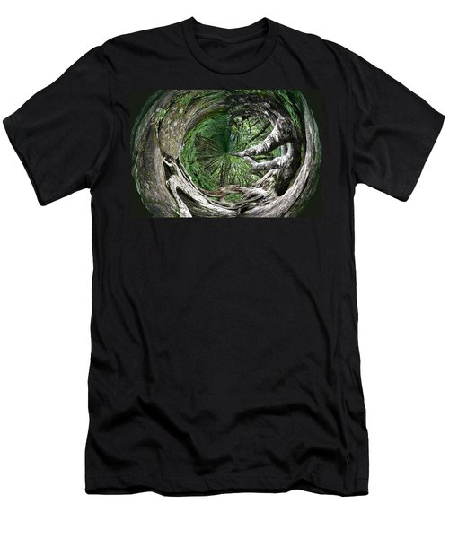 Enter The Root Cellar Men's T-Shirt (Slim Fit) by Gary Smith