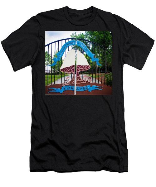 Entering The Big House Men's T-Shirt (Athletic Fit)