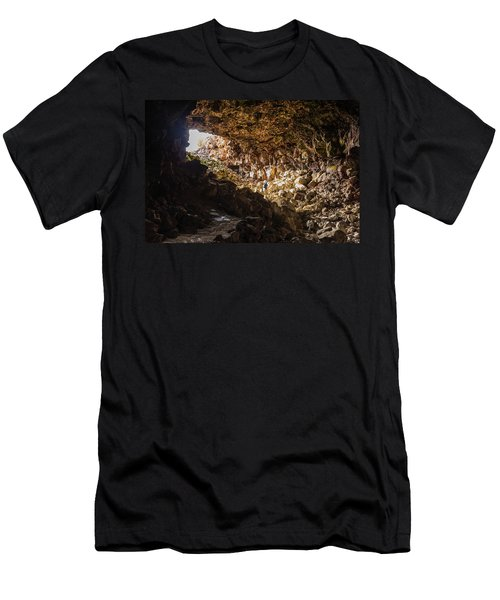 Entrance To Skull Cave Men's T-Shirt (Athletic Fit)