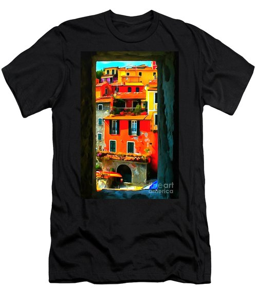 Entry Way Painting Men's T-Shirt (Athletic Fit)
