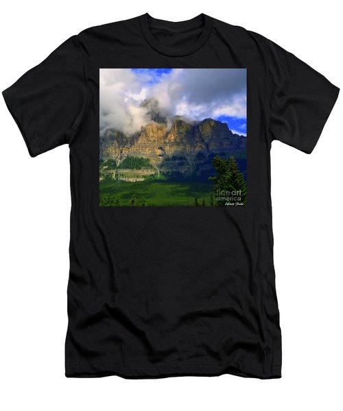 Envelopped  Men's T-Shirt (Athletic Fit)